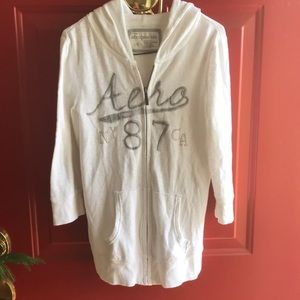 Aeropostale Light weight cotton long jacket